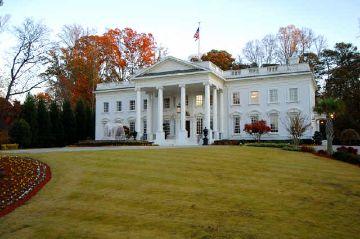 The White House - la copia riprodotta ad Atlanta