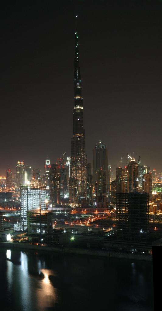 Dubai inaugura il grattacielo pi alto del mondo - Dubai grattacielo piu alto ...