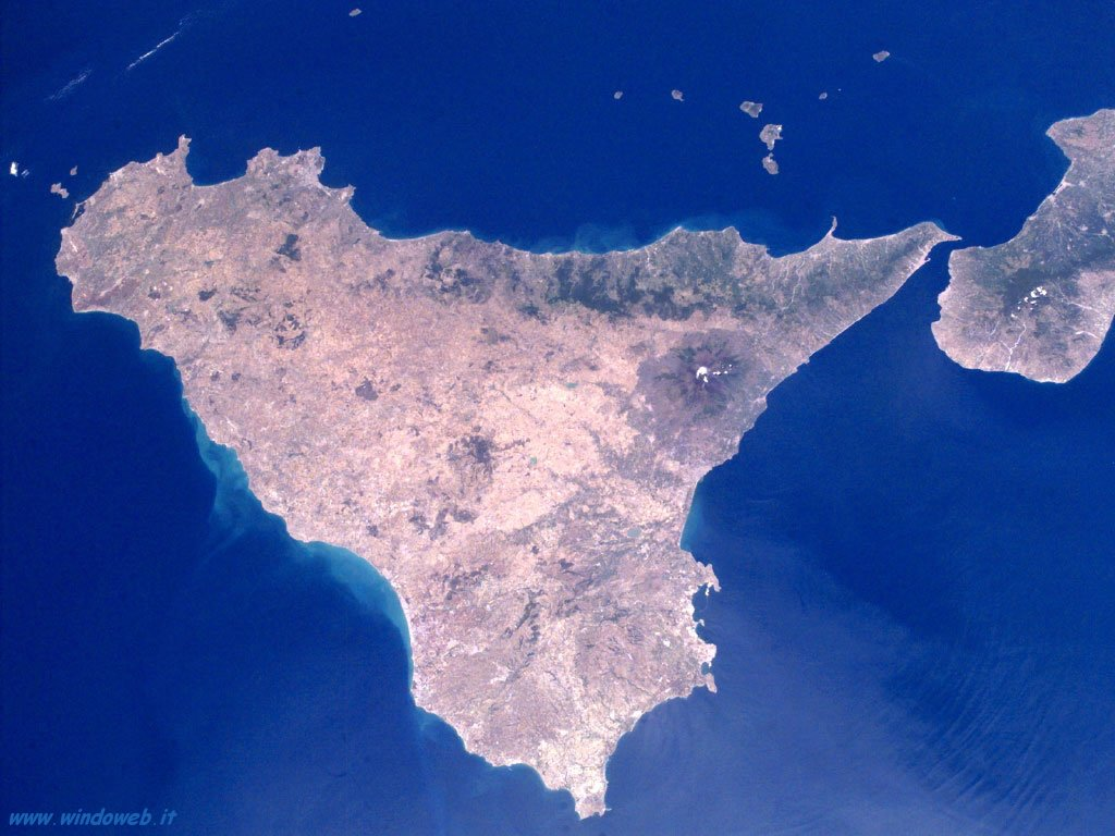 Cartina Sicilia Satellite.Immobili Fantasma In Sicilia 1 Su 10