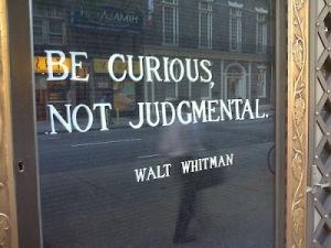 be curios