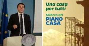 Il piano casa del governo Renzi
